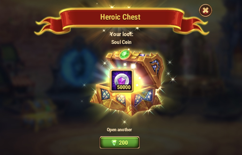 hero wars cleaver become 50000 soul stones