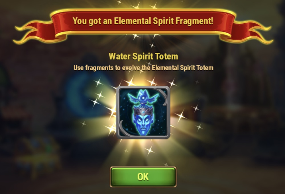 Summoning Totem on Hero Wars